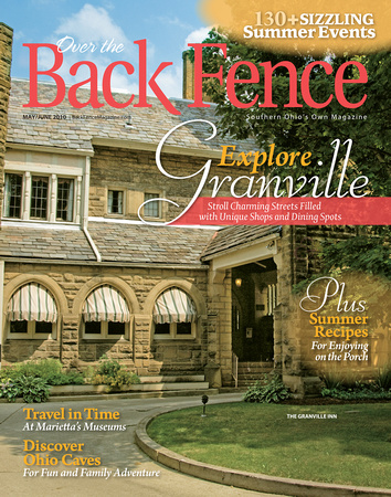 Over the Back Fence Magazine Cover